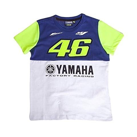Valentino Rossi Yamaha 2016 Kids Tee, royal blue, 5/6