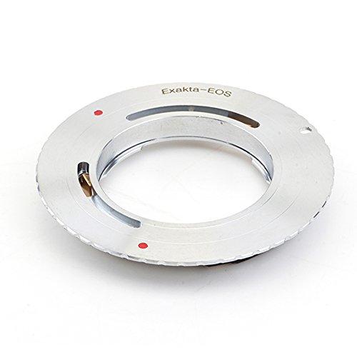 Pixco 2 nd Generation Upgrade Blende AF bestätigen Adapter für Exakta Objektiv an Canon (D) SLR 600D (T3i/X5) 550D (T2i/X4) 500D (T1i/X3) 60D 60Da 50D 40D 5D Mark II 7D 1100D (T3/X50) Kamera