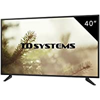 Televisores Led 40 Pulgadas Full HD TD Systems K40DLM7F. Resolución Full HD, 3x HDMI, VGA, USB Reproductor y Grabador. Tv Led TDT HD DVB-T2