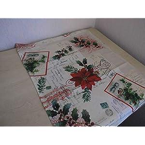 Tischläufer - Tischdecke - Advent - Weihnachten Vintage Nostalgie - extra lang