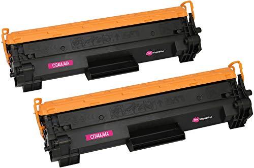 2 INK INSPIRATION® Premium Toner kompatibel für HP CF244A 44A Laserjet Pro M15a M15w M16a M16w MFP M28a M28w M29a M29w | 1.000 Seiten | mit Chip (Mit Hp Drucker Toner-kassette)