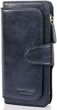 Women Purse Fashion PU Leather Cute Clutch Long Ladies Credit Card Holder Wallet Organizer For Female