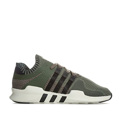 adidas EQT Support ADV Primeknit, Baskets Basses Homme Multicolore - vert/noir (Stmajo/Negbas/Rama)