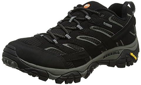 Merrell Men's Moab 2 Gtx Low Rise Hiking Boots, Black (Black), 8.5 UK 43 EU