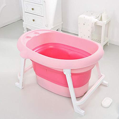 Y-M-H Bañera de bebé Plegable/Plegable   Tubo de Ducha Infantil portátil  ...