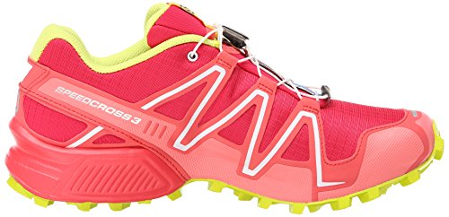 Salomon - Speedcross 3, Scarpe Da Trail Running da donna Rosa (Pink (Lotus Pink/Papaya-B/Gecko Green))
