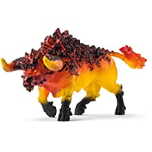 Schleich-Figurine Taureau de feu Eldrador Creatures, 42493, Multicolore