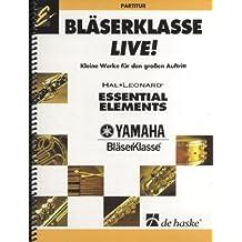 Bläserklasse live!, Partitur