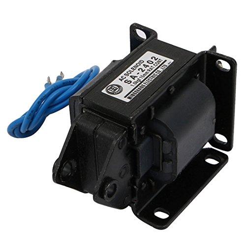 sourcing map AC110V 15mm 1kg Push Pull Typ Rahmen AC Magnetventil Elektromagnet SA-2402 de -