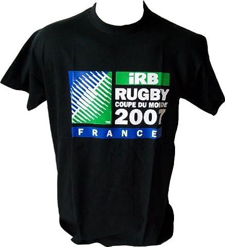IRB The World in Union - World Cup 2007 - Coupe Monde Rugby - T-shirt Officiel Australie Nouvelle Zelande Fidji Samoa Tonga Angleterre France Irelande