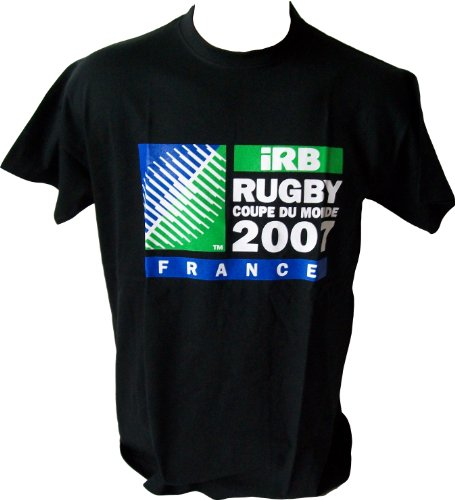 T-shirt - IRB 2007 - World Cup - Collection officielle Coupe Monde de Rugby 2007 en France