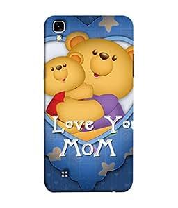 PrintVisa Designer Back Case Cover for LG X Power :: LG X Power K220DS K220 (Teddy bears Funny toys)