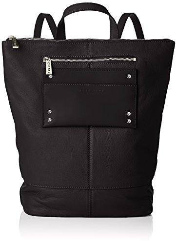 Liebeskind Berlin Damen Backpackm Leisur Rucksackhandtasche, Schwarz (Black), 11x48x36 cm