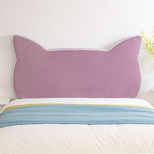 Bedside Kissen Bettdecke Kopfteil Dekorative Lesekissen Abnehmbare Abdeckung/Cartoon/Kinderbett,I-150 * 80 * 8CM