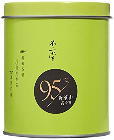Tea Soul Oolong Tee Qilai High Mountain Can, 1er Pack (1 x 75 g) - Oolong Di Taiwan Tè