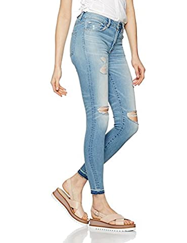 FIND Distressed, Jeans Femme, Bleu (Light Blue), 16 (Taille Fabricant: