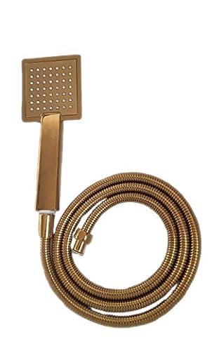 housler® Super pression Boosting or tête de douche et flexible