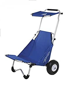 Beach rolly alternative  Ascan Beachbuggy Transportwagen und Sitz mit Sonnendach: Amazon.de ...