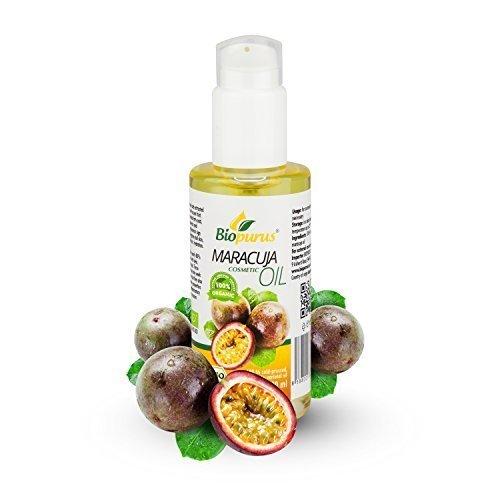 zertifiziertes Bio kaltgepresst Maracuja Kosmetik Öl 100ml biopurus