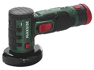 parkside smerigliatrice angolare a batteria pwsa 12 li