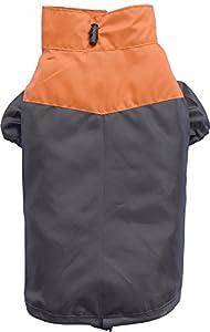 - waschbar bei 30° Schonwaschgang - wasserabweisende Hunderegenmantel - Klettverschluss am Bauch - Zwei-Pfoten Ausführung Der orange-braune Regenmantel für Hunde ist durch das leichte Material perfekt für Regentage. Der wasserabweisende Hundemantel h...