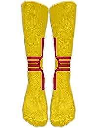 Lmunxuy Knee High Socks Socks New Mexico Women Printing Novelty Long Sport Stocking