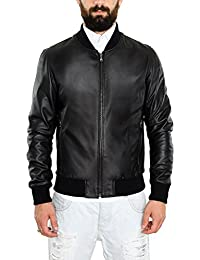 7e4492715ea7f Amazon.it  giacca di pelle uomo - Pellein   Giacche   Giacche e ...