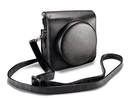 Supremery Tasche für Fujifilm Instax SQ 6 SQ6 EX D Sofortbildkamera Kunstleder Case Schutz-Hülle Etui Tragetasche - schwarz Square Hülle Case