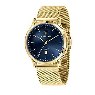 Reloj para Hombre, Colección Epoca, Solo Tempo, en Acero y PVD Oro Amarillo – R8853118014