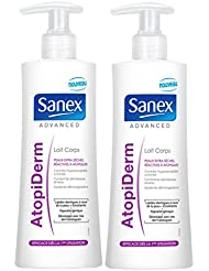 Sanex Crème pour Corps Advanced Atopiderm 250 ml - Lot de 2