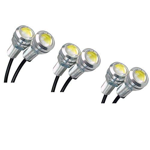 HOTSYSTEM 6 x 12V 110LM Auto LED Luci Lampada per Auto camion veicolo illuminazione esterna bianca