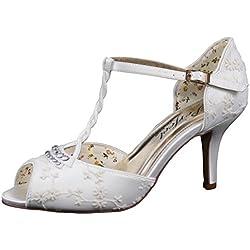 Perfect Bridal Hazel, Damen Brautschuhe , weiß - elfenbeinfarben - Größe: 42
