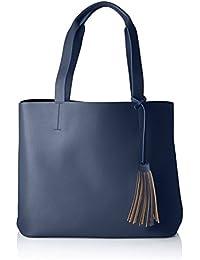 Women Pcgwen Suede Shopper Shoulder Bag Pieces 3Qv6odCnT