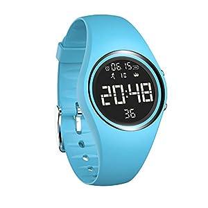 Chenang Intelligente Uhr, Wasserdicht IP68 Smart Watch T5E Smartwatch Fitness Tracker Uhr und Fitness-Tracker Unisex 3D Schrittzähler Sport Uhr für Damen Kinder Herren