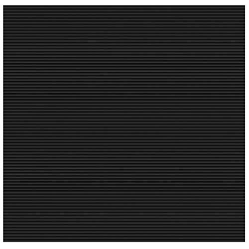 Feinriefen Gummiläufer - 10 Größen wählbar - Beite: 200cm - 200x300cm - Auto Garage-boden-matte Für