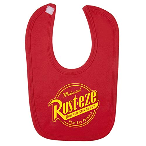Cars Rust Eze Bumper Ointment Baby And Toddler Velcro Close Bib