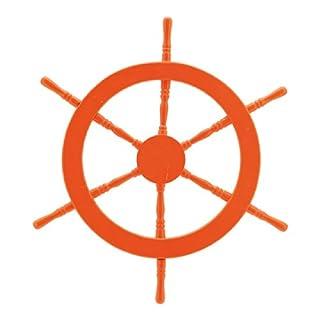 Abama, Durchschnitt: 60cm Steuerrad, Holz, orange