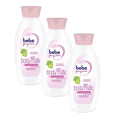 bebe-young-care-soft-body-milk-fur-trockene-haut-3er-pack-3-x-400-ml