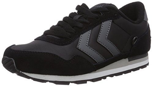 hummel REFLEX LO Unisex-Erwachsene Sneakers Schwarz (Black 2001)