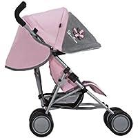 Silver Cross Silla de Paseo para muñecos Pop: Tejido Vintage Pink. Recomendado para niños