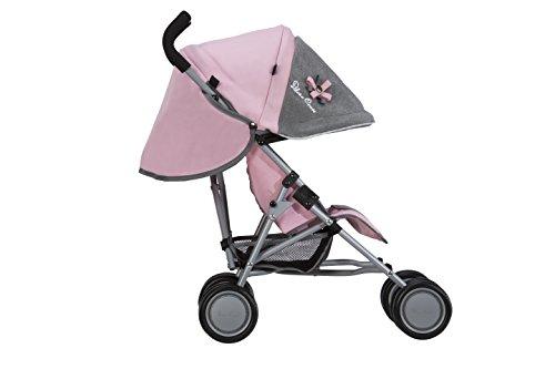 Silver Cross Silla de Paseo para muñecos Pop: Tejido Vintage Pink. Recomendado para niños de 18 Meses a 3 años.