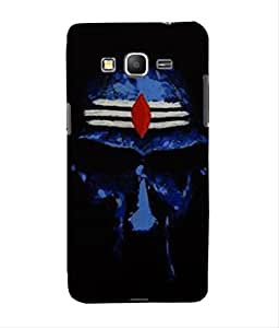For Grand Core Prime -Livingfill- Lord Shiva Arts Printed Designer Slim Light Weight Cover Case For Grand Core Prime (A Beautiful One of the Best Design with a Classic Theme & A Stylish, Trendy and Premium Appeal/Quality) (Red & Green & Black & Yellow & Other)