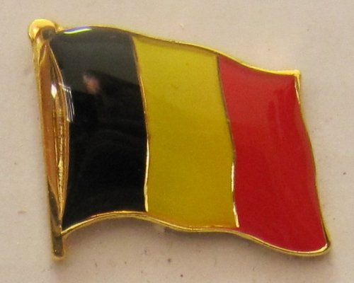 Pin Anstecker Flagge Fahne Belgien Nationalflagge Flaggenpin Badge Button Flaggen Clip Anstecknadel