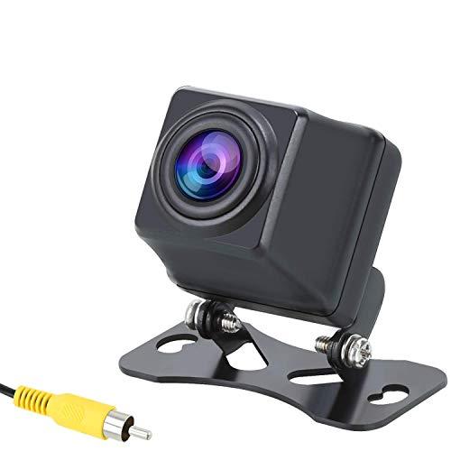 PUMPKIN Auto Rückfahrkamera Einparkhilfe 720P Kamara mit 170° Winkel Nachtsicht IP69 Wasserdichtkeit Rückfahrsystem Für die meisten Autos
