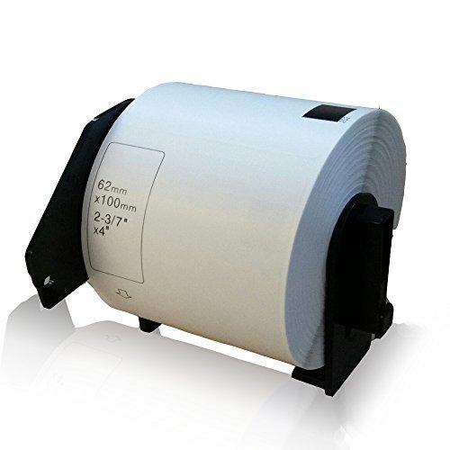 Preisvergleich Produktbild kompatible Etiketten-Rolle für Brother DK-11202 PTouch QL 560 VP PTouch QL 560 YX PTouch QL 570 PTouch QL 580 PTouch QL 580 N PTouch QL 650 TD PTouch QL 700 PTouch QL 710 W PTouch QL 720 NW Label 62mm x 100mm DK11202 Trägerspule