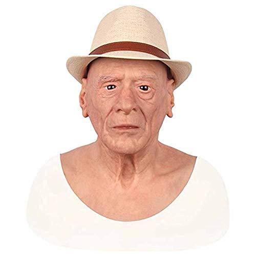 Candyana AWDSB Crossdresser Maske Realistische Weibliche Latex Maske Menschliche Overhead Maske Party Cosplay Sexy Kostüm Frau Gesicht - Overhead Latex Maske Kostüm