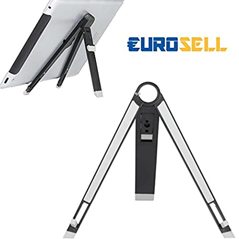 Eurosell Design Ständer Tisch Halterung faltbar - für Tablet / Ebook Reader / zb für Apple iPad 1 2 3 4 5 AIR Mini amazon Kindle Samsung Galaxy Tab etc.