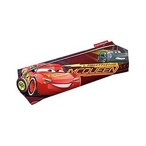 Cars 3 Estuche portatodo Cuadrado, Color Rojo, 22 cm (Karactermanía 32477)