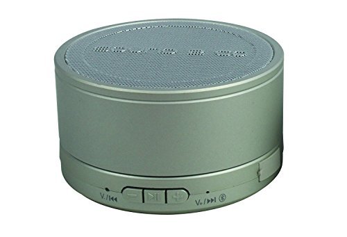 S2G BIGBASS XL Bluetooth Lautsprecher, IPX7 Wasserdicht, Spritzwasserschutz, kraftvoller Bass, USB, Micro SD, Freisprecheinrichtung - Silber