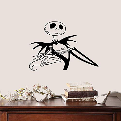 Wandtattoo Schlafzimmer Jack Skellington Nightmare Before Christmas Home Decor ()
